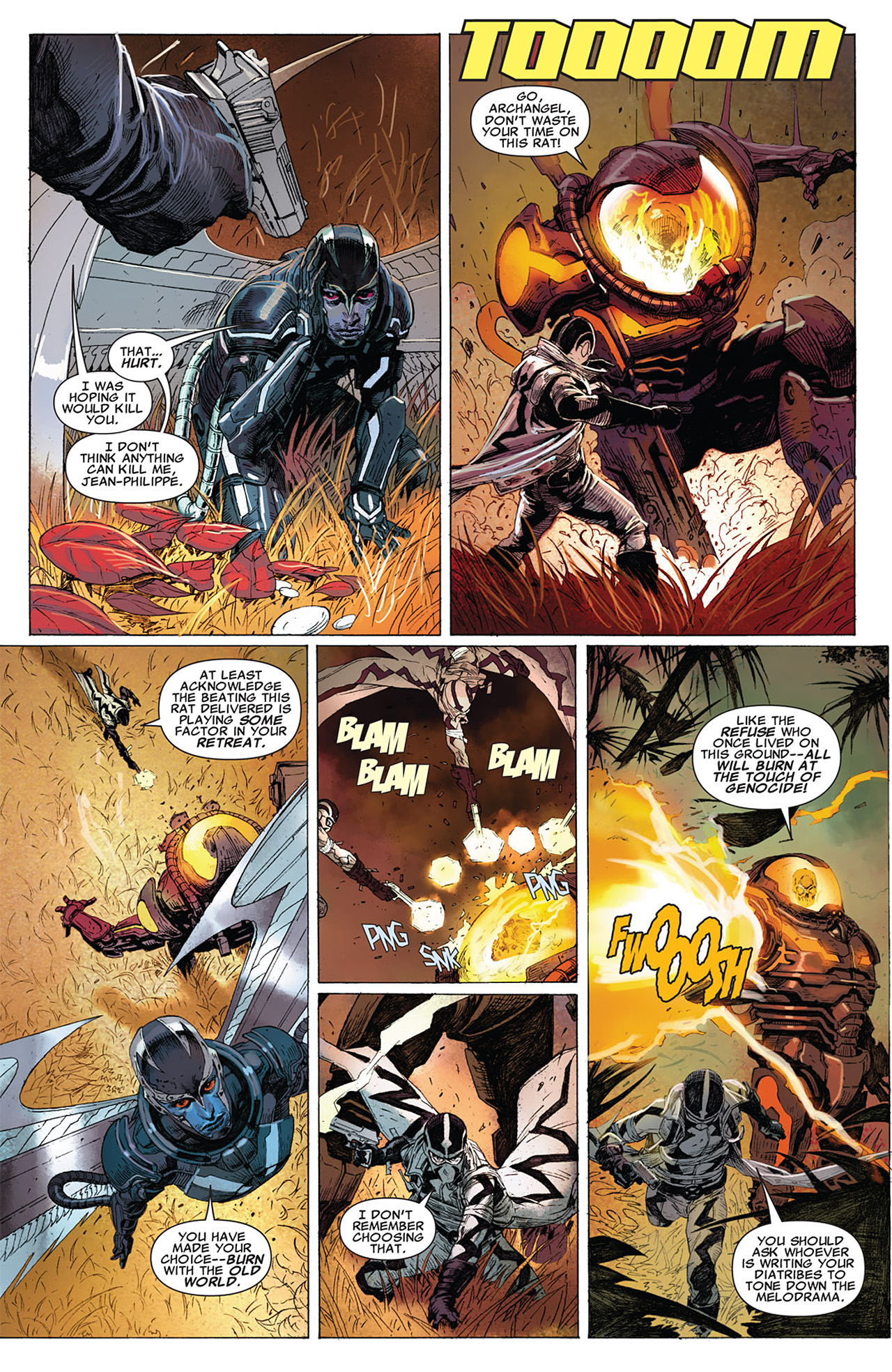 Read online Uncanny X-Force (2010) comic -  Issue #15 - 17