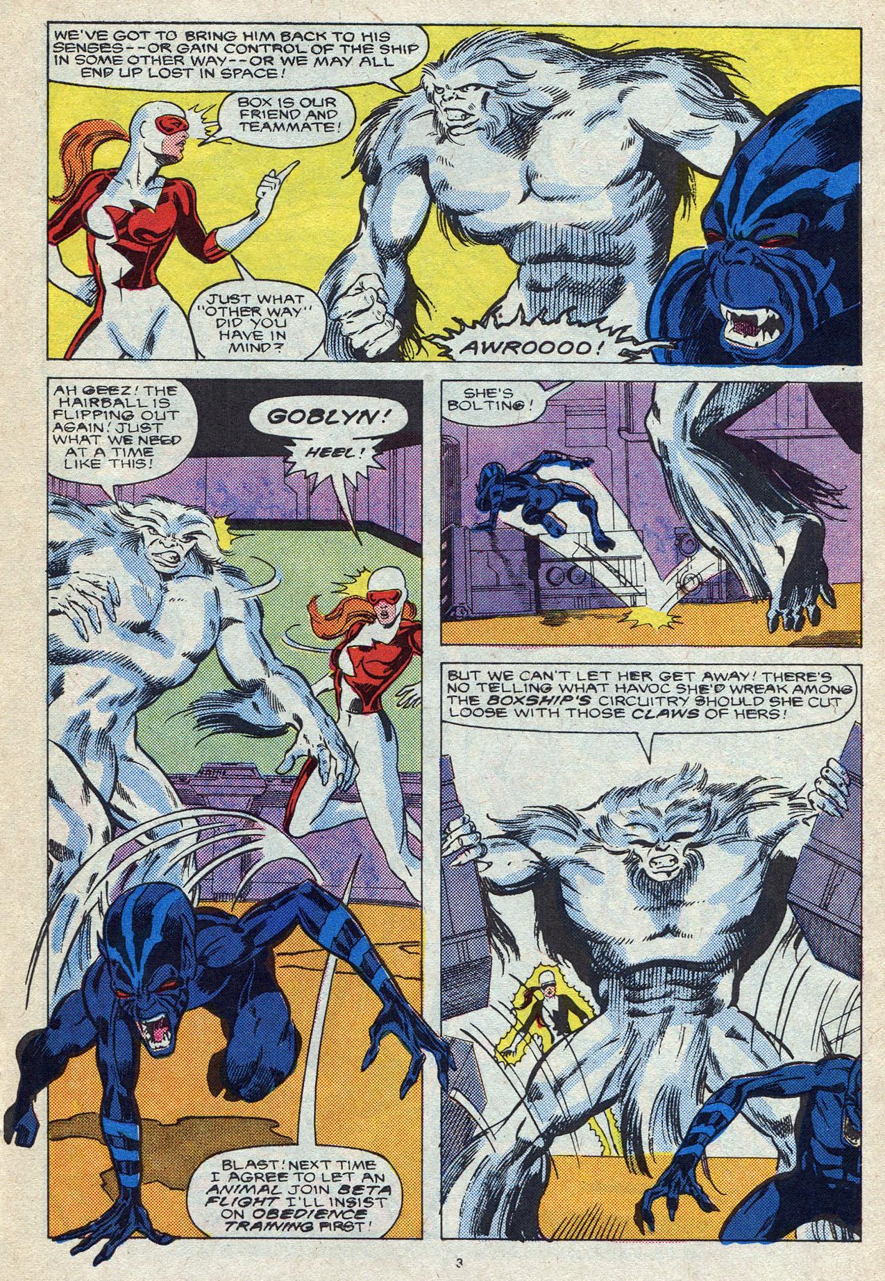 Read online Alpha Flight (1983) comic -  Issue #56 - 5