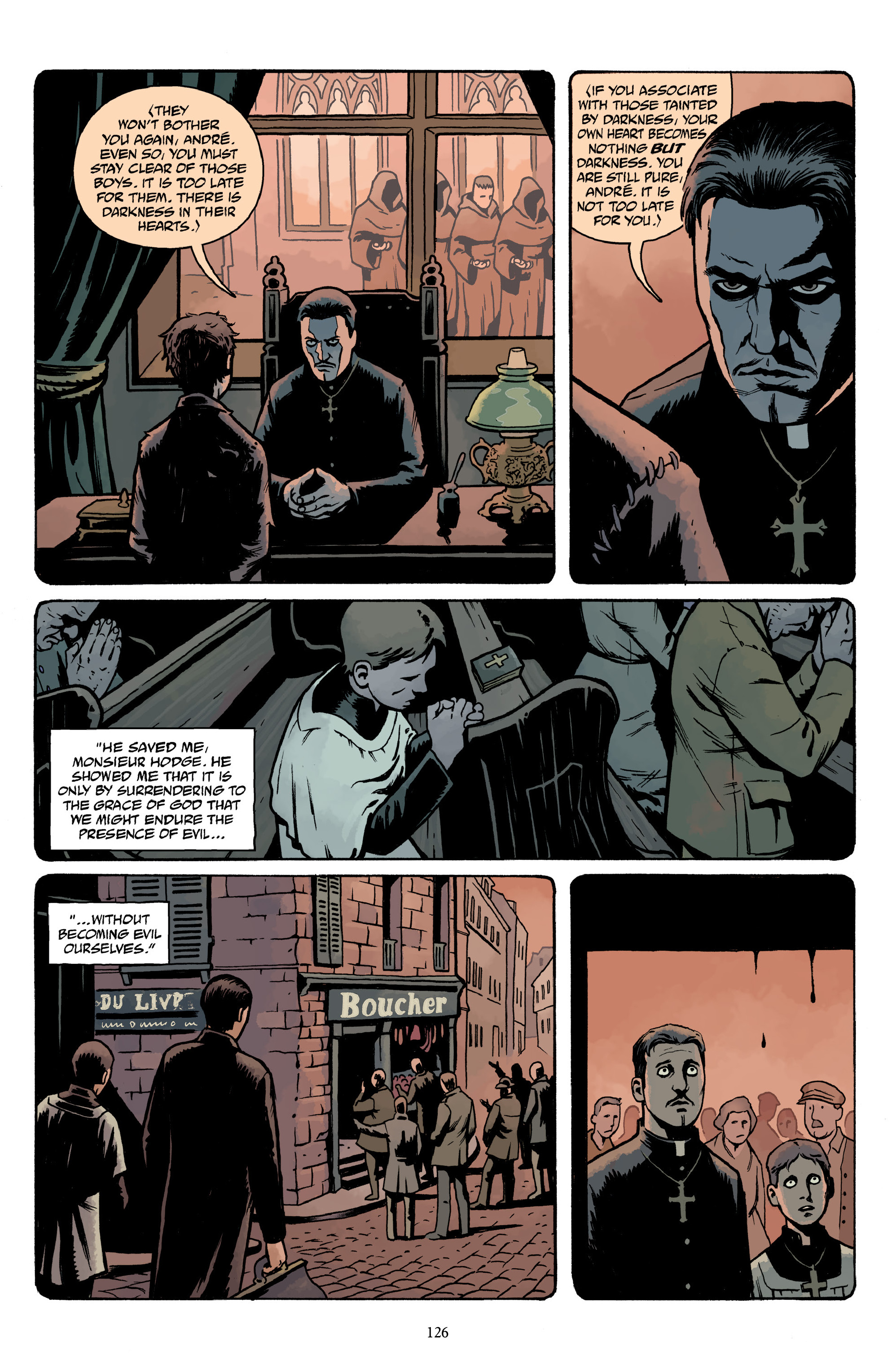 Read online Baltimore Volume 3: A Passing Stranger and Other Stories comic -  Issue # Full - 128