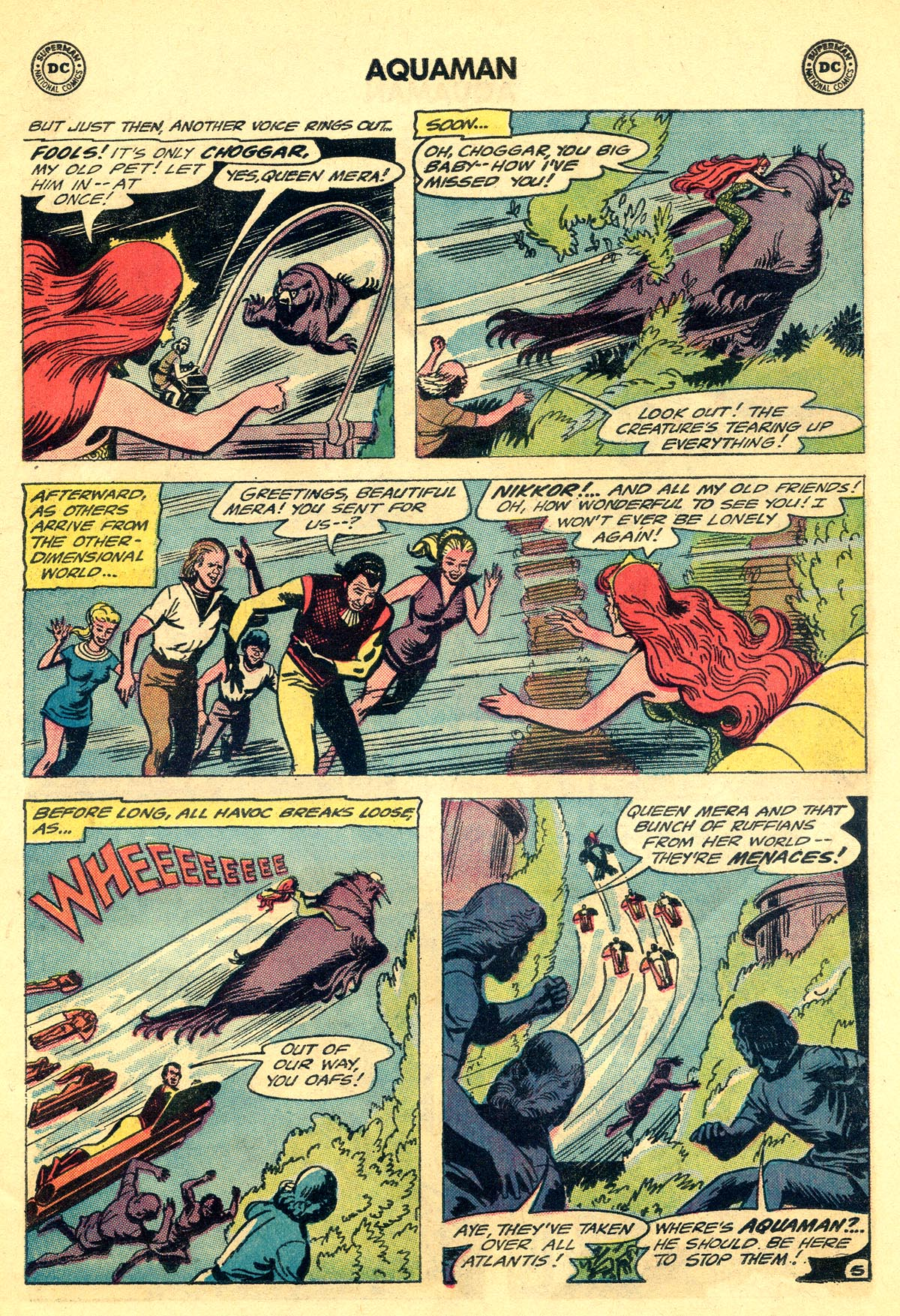 Read online Aquaman (1962) comic -  Issue #19 - 7