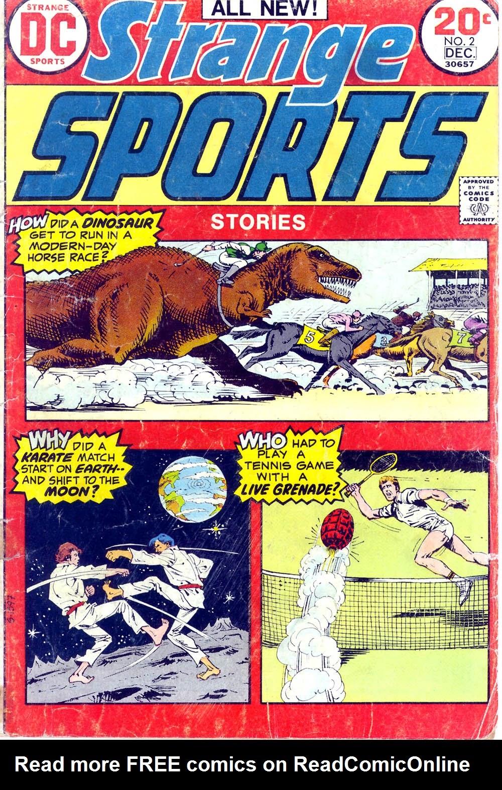 Read online Strange Sports Stories (1973) comic -  Issue #2 - 1