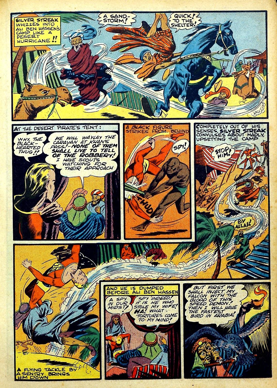 Read online Silver Streak Comics comic -  Issue #22 - 29