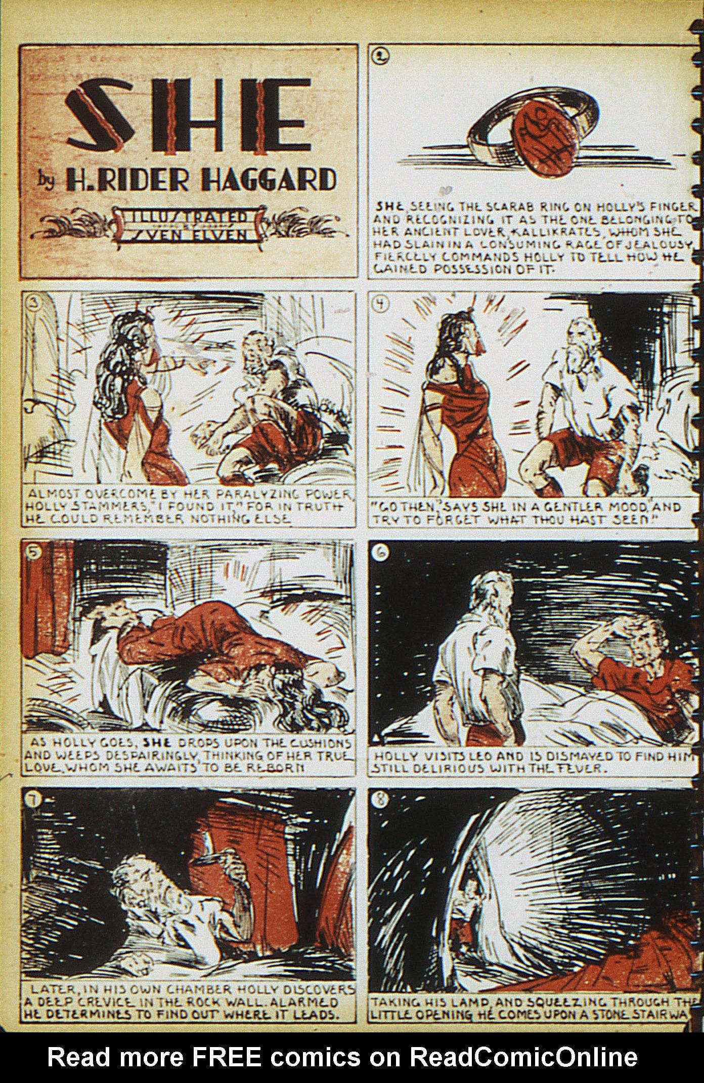 Read online Adventure Comics (1938) comic -  Issue #15 - 38