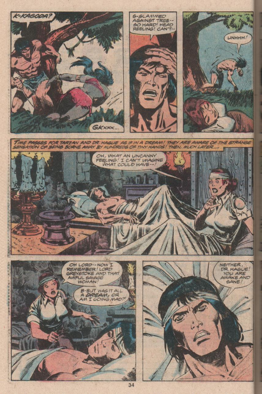 Read online Tarzan (1977) comic -  Issue # _Annual 3 - 25