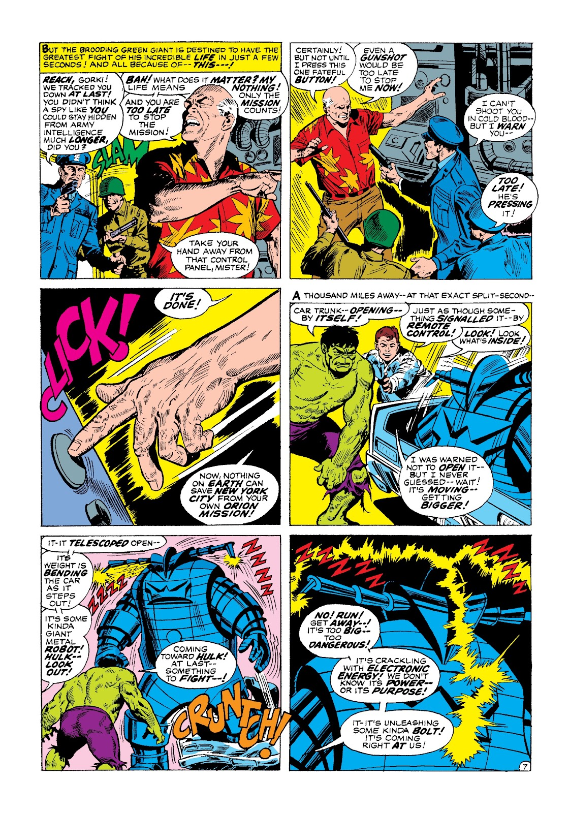 Read online Marvel Masterworks: The Incredible Hulk comic -  Issue # TPB 3 (Part 1) - 69