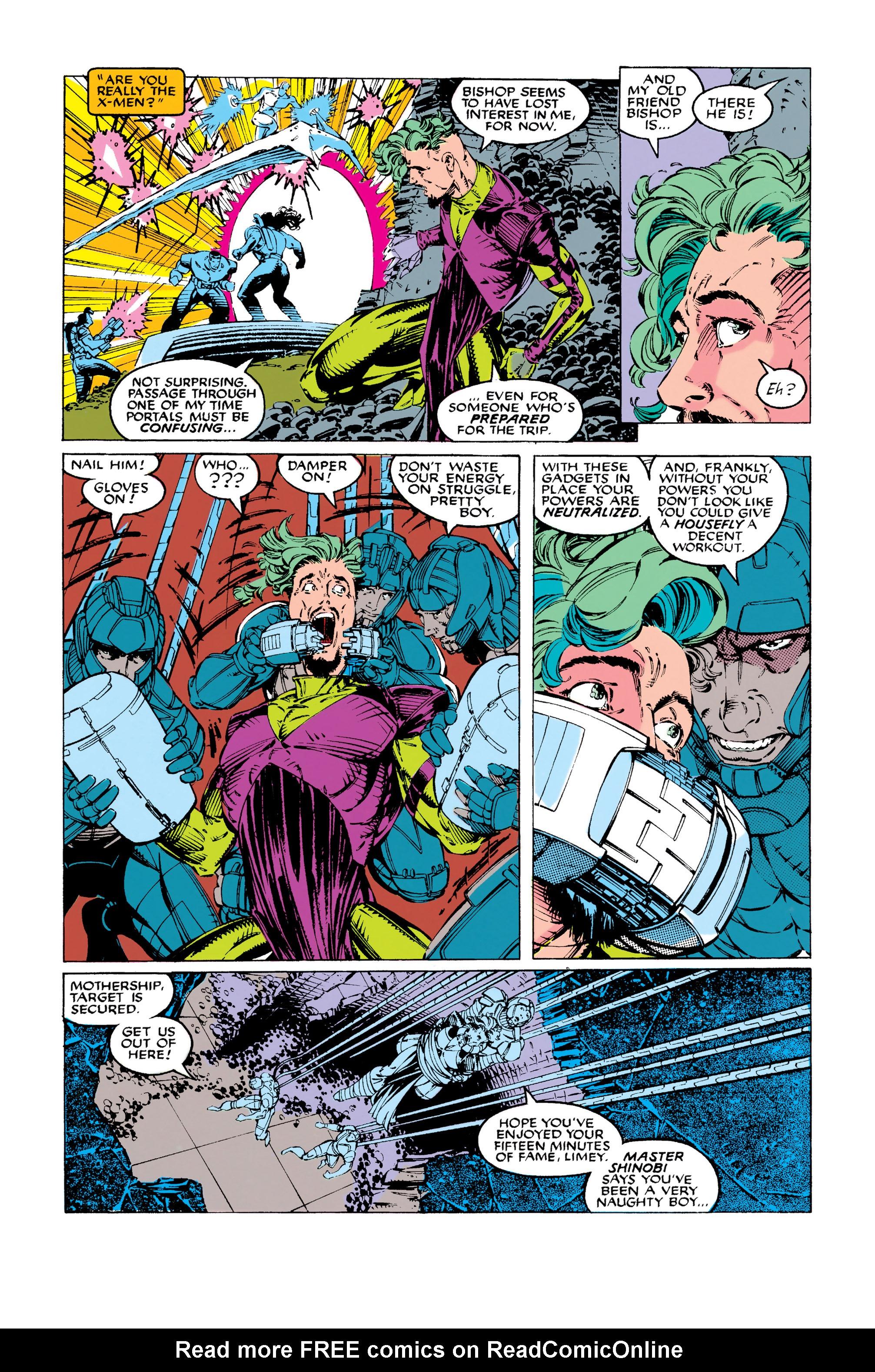 Read online Uncanny X-Men (1963) comic -  Issue #283 - 8