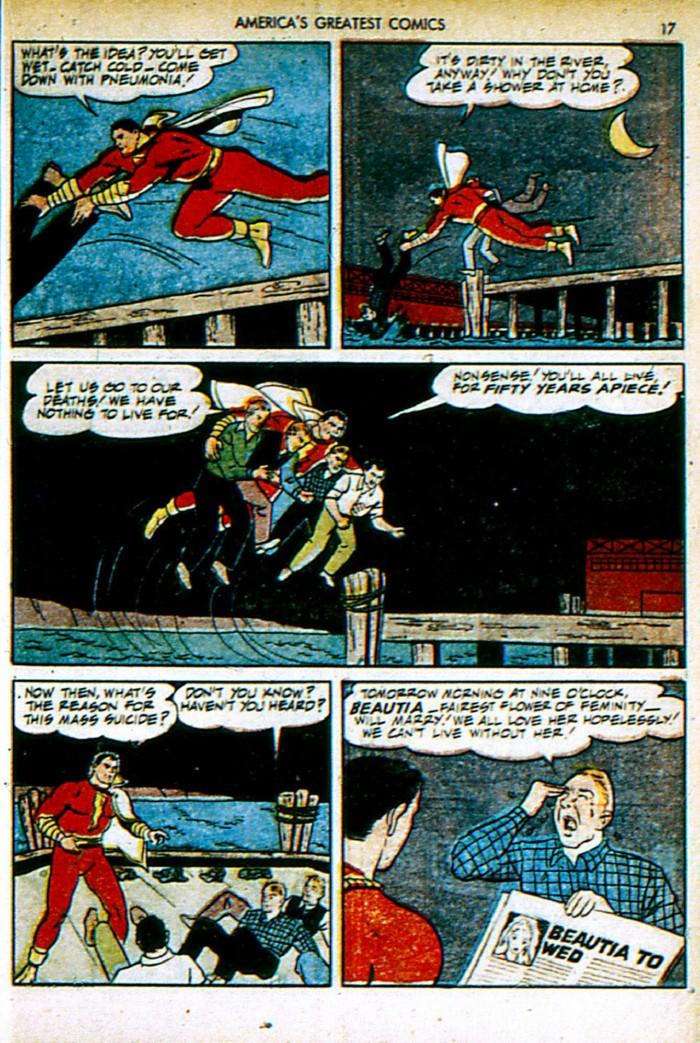 Read online America's Greatest Comics comic -  Issue #4 - 17