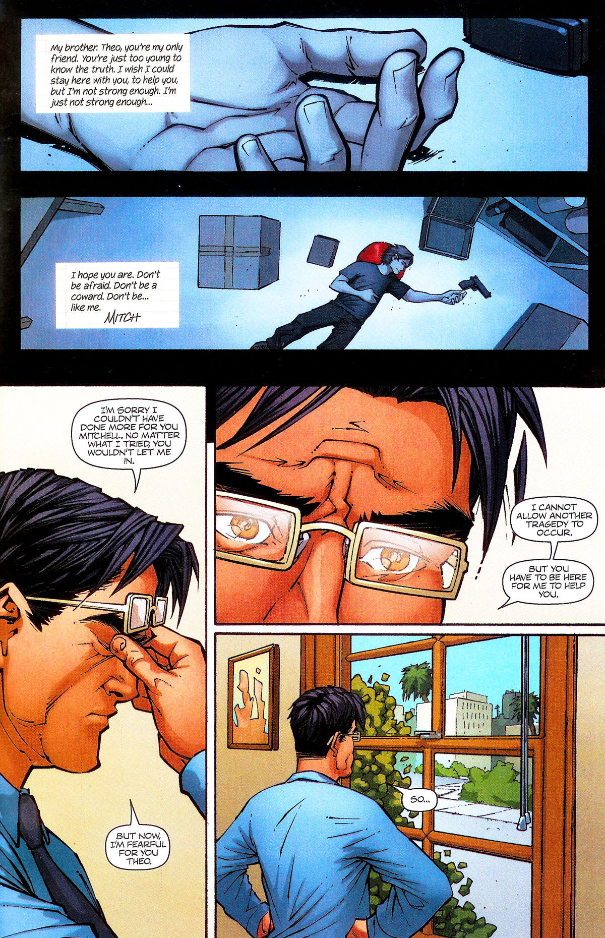 Read online Shrugged (2006) comic -  Issue #5 - 5