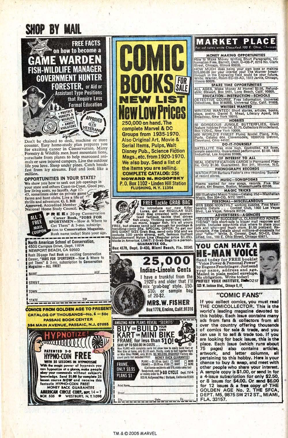 Uncanny X-Men (1963) issue 70 - Page 46