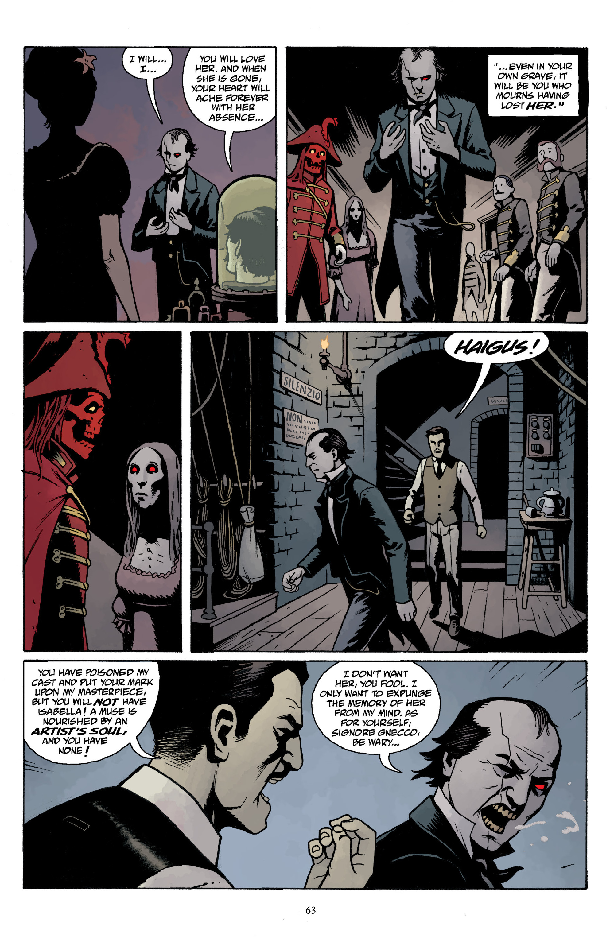 Read online Baltimore Volume 3: A Passing Stranger and Other Stories comic -  Issue # Full - 65