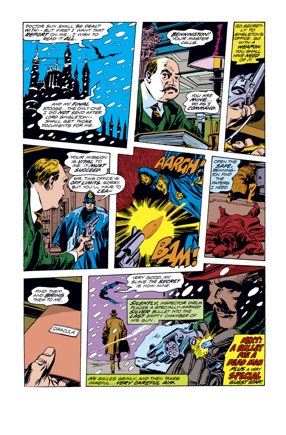 Tomb of Dracula (1972) issue 33 - Page 19