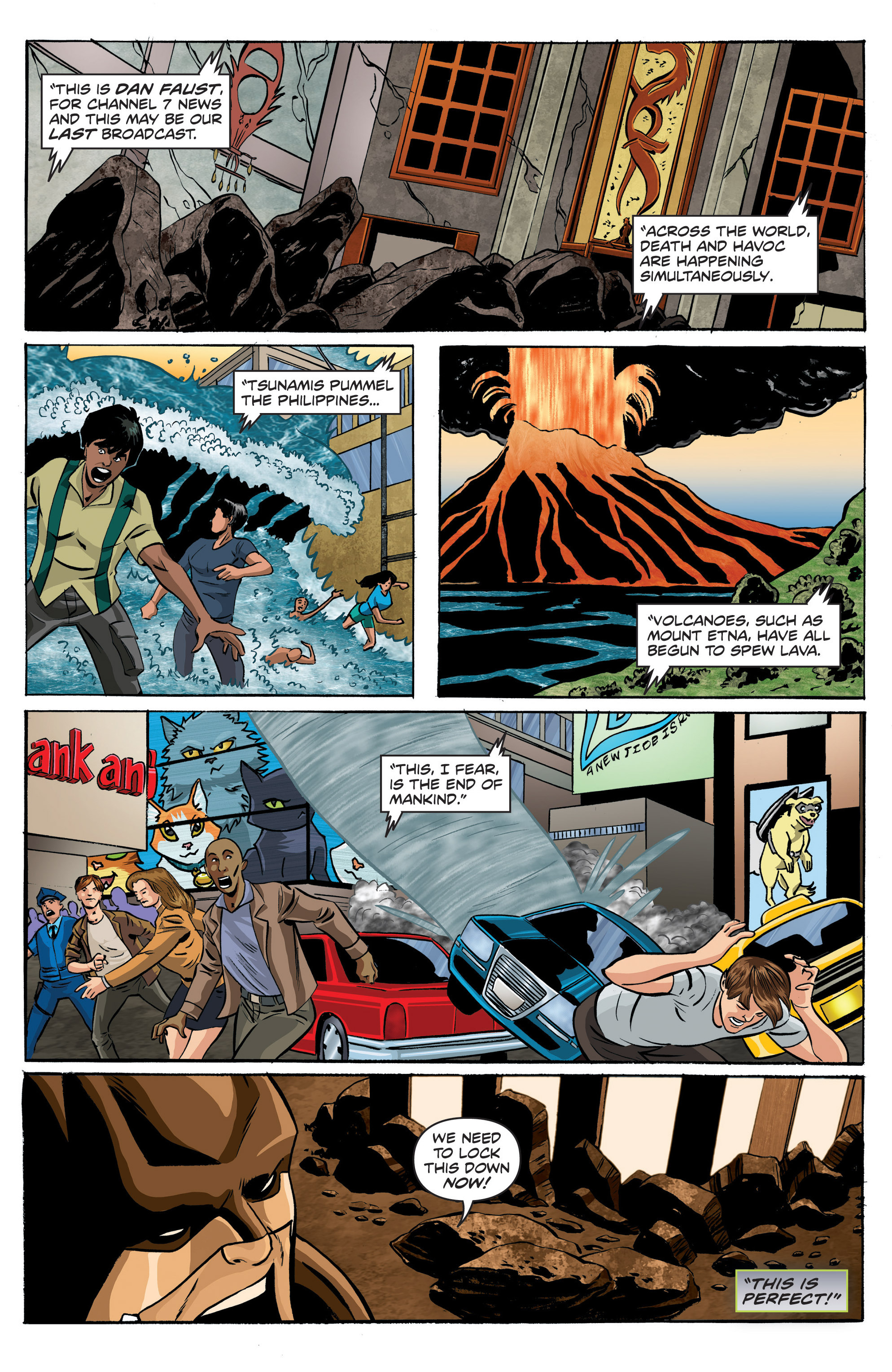 Read online Actionverse comic -  Issue #6 - 10