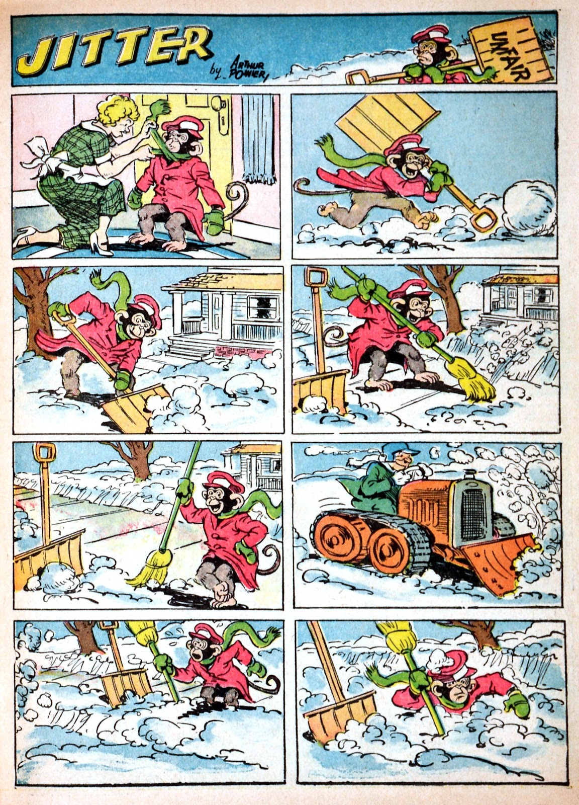 Read online Famous Funnies comic -  Issue #68 - 21