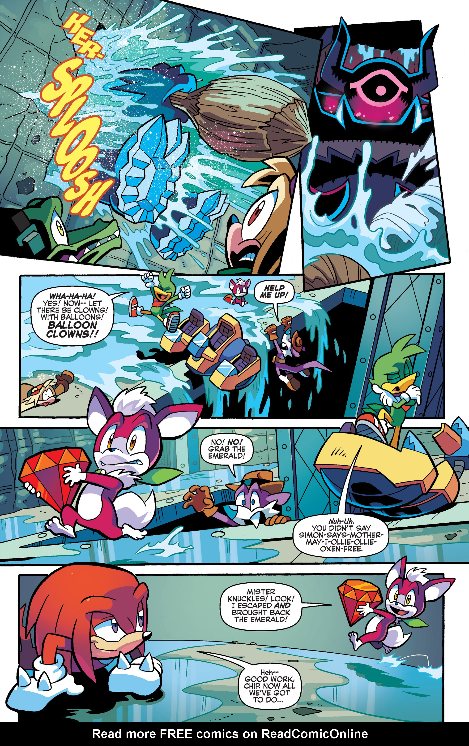 Read online Sonic Universe comic -  Issue #66 - 11