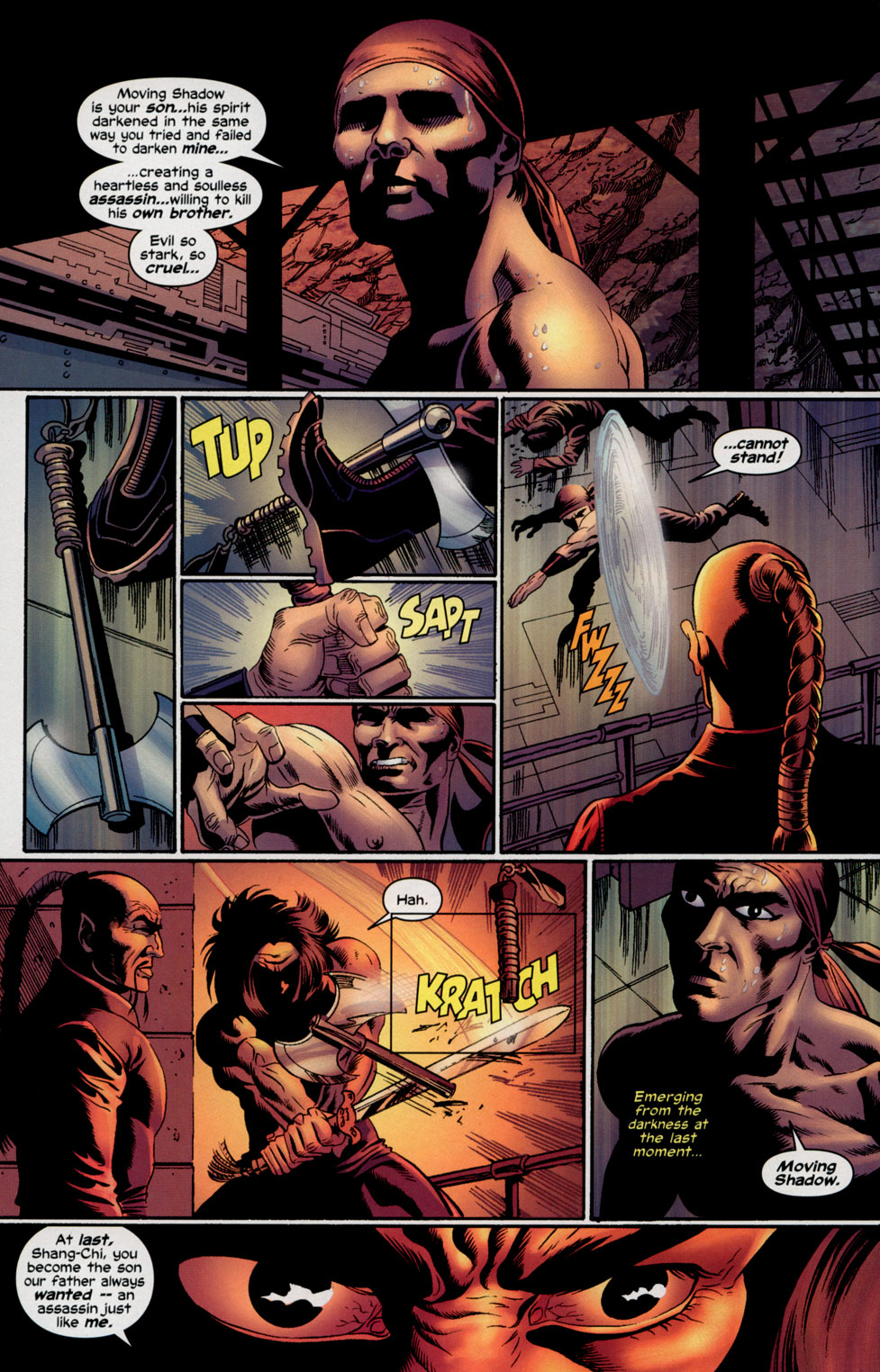 Read online Shang-Chi: Master of Kung Fu comic -  Issue #5 - 22