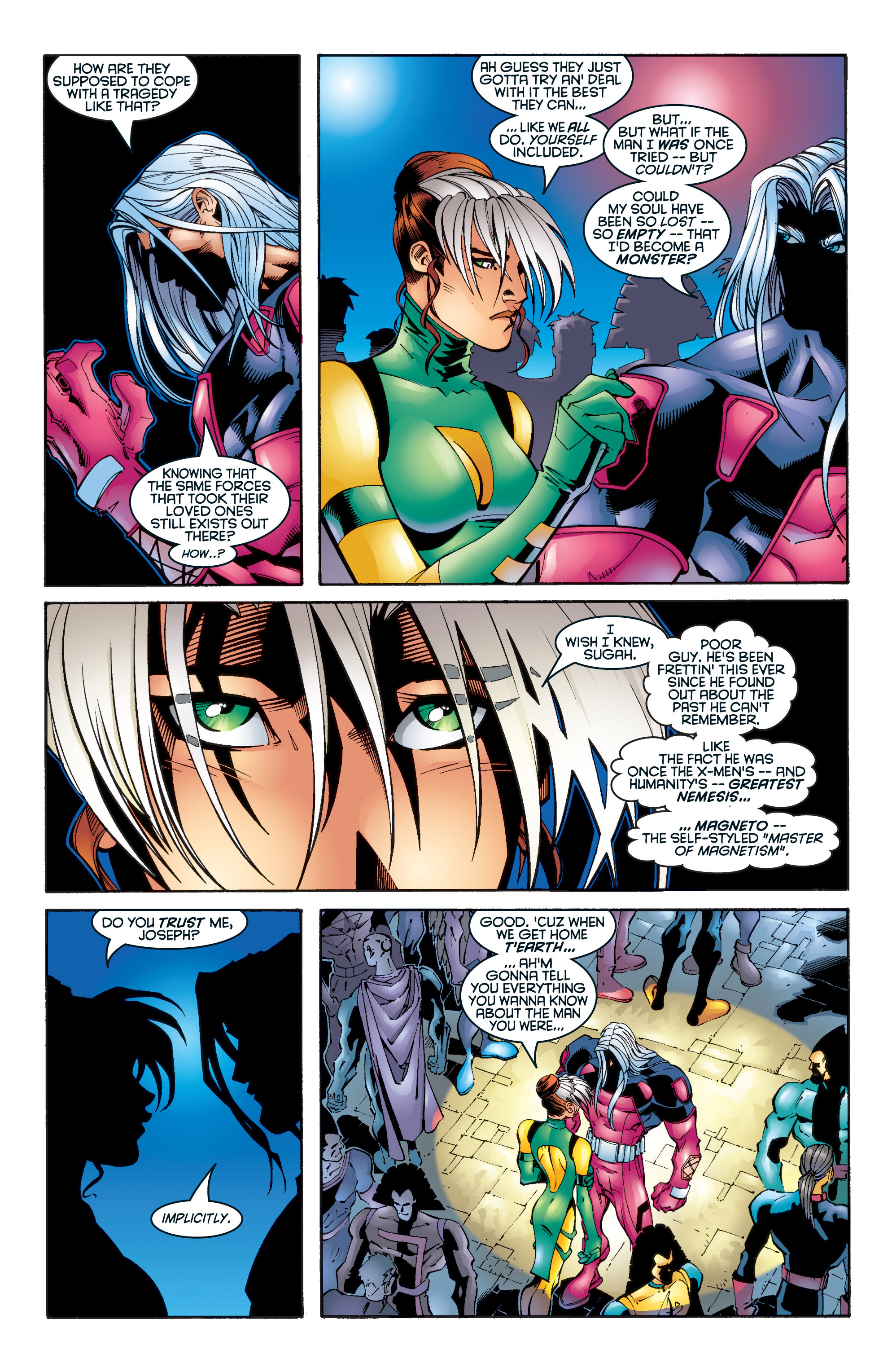 Read online Uncanny X-Men (1963) comic -  Issue #345 - 11