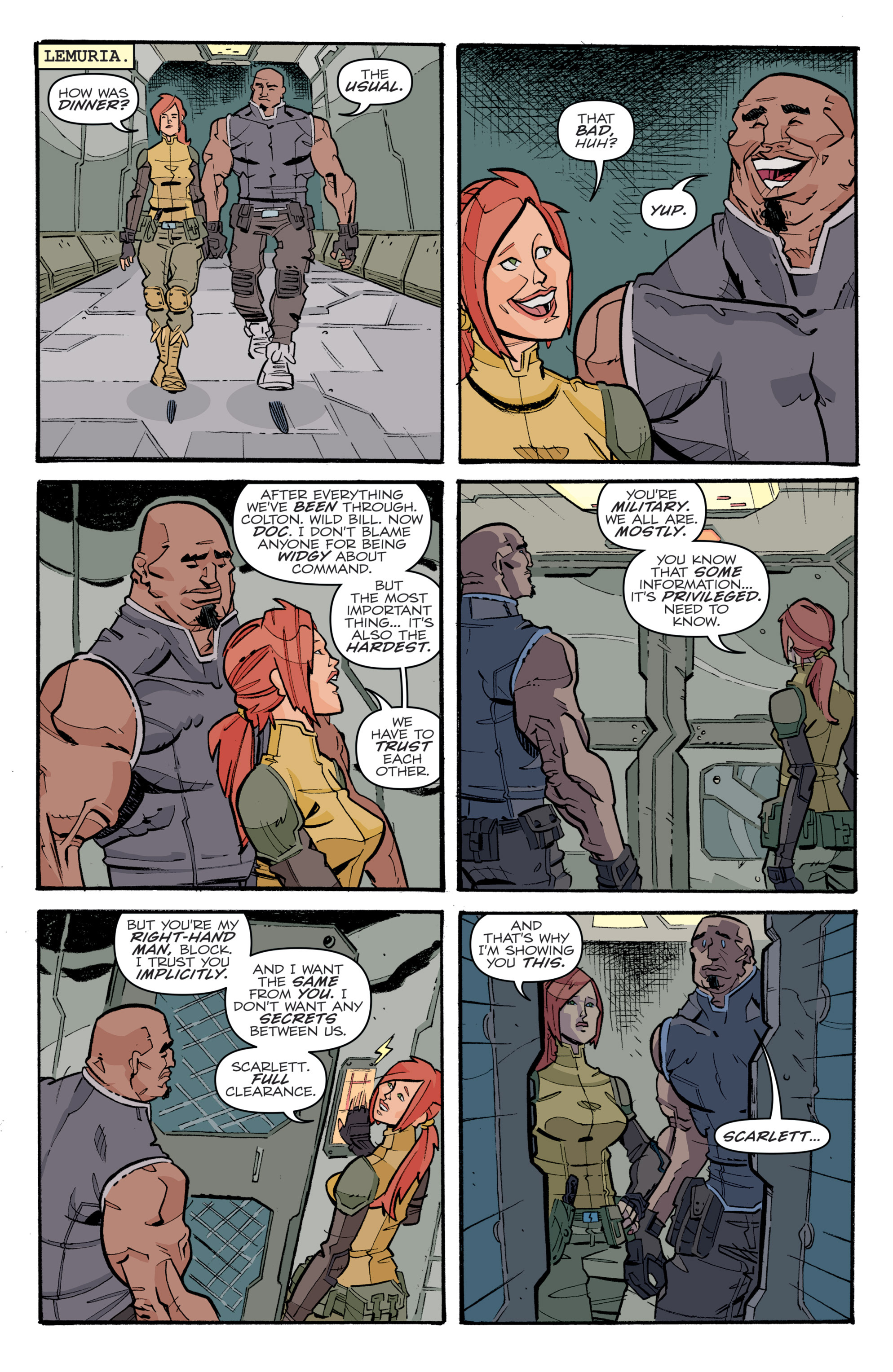 Read online G.I. Joe (2016) comic -  Issue #5 - 21