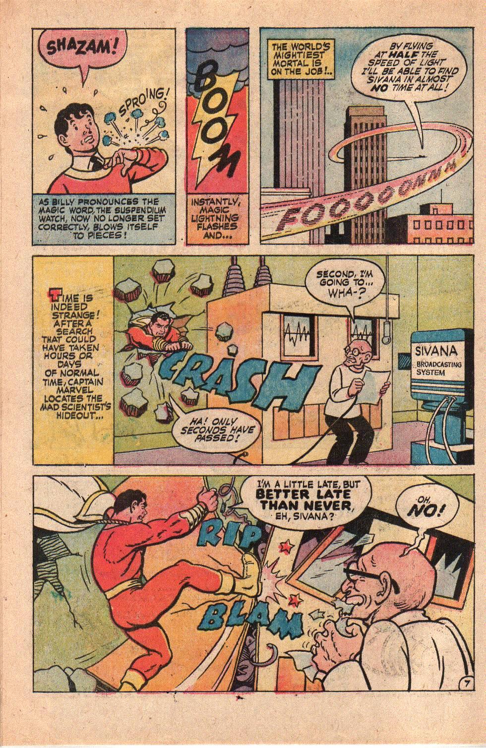 Read online Shazam! (1973) comic -  Issue #6 - 10