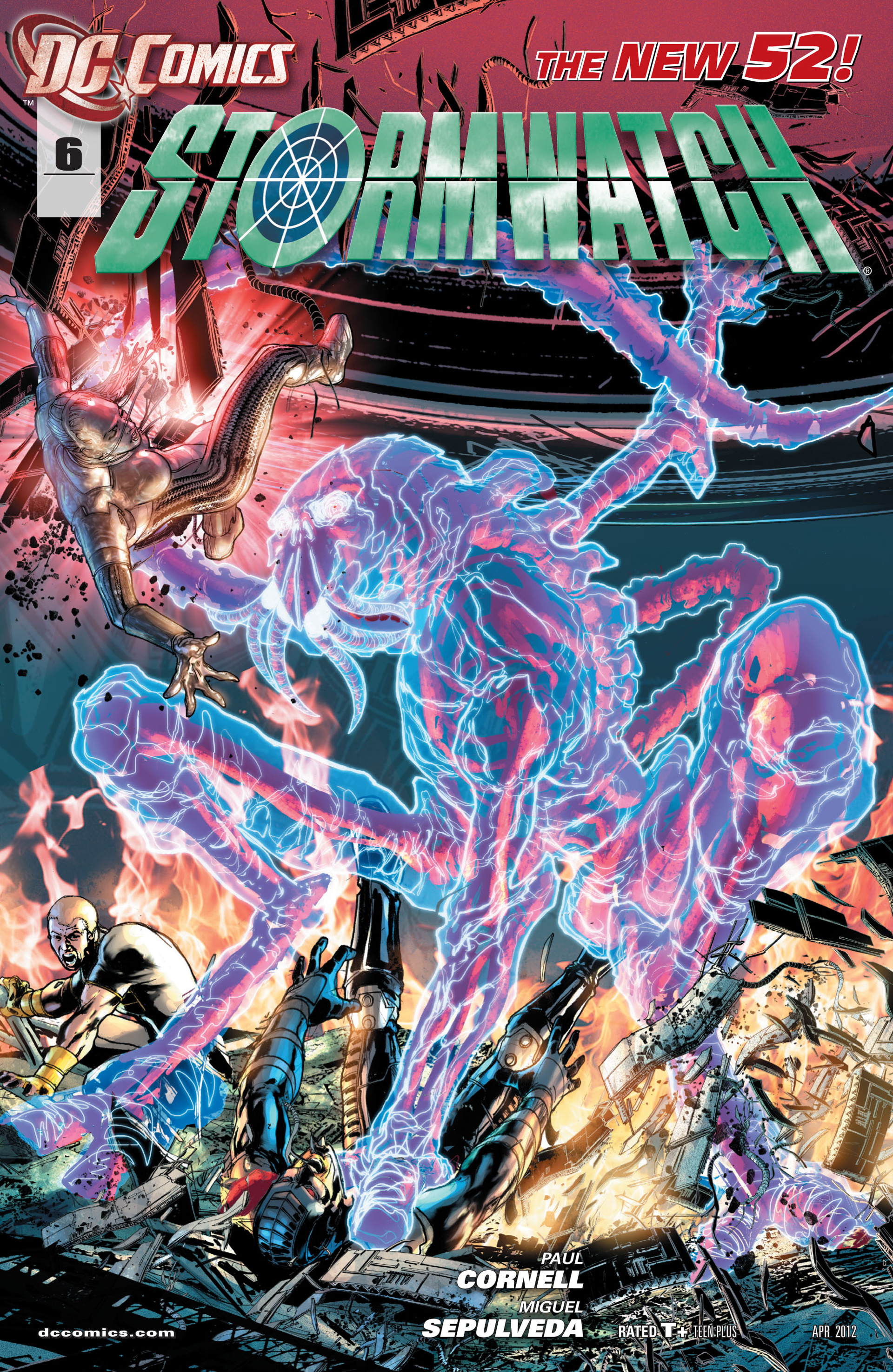 Stormwatch (2011) issue 6 - Page 1