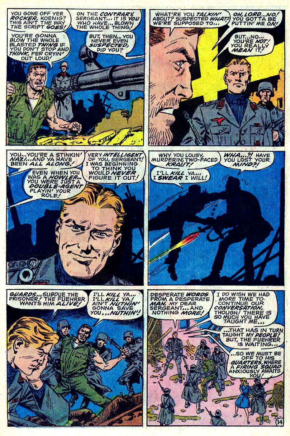 Read online Sgt. Fury comic -  Issue #66 - 20