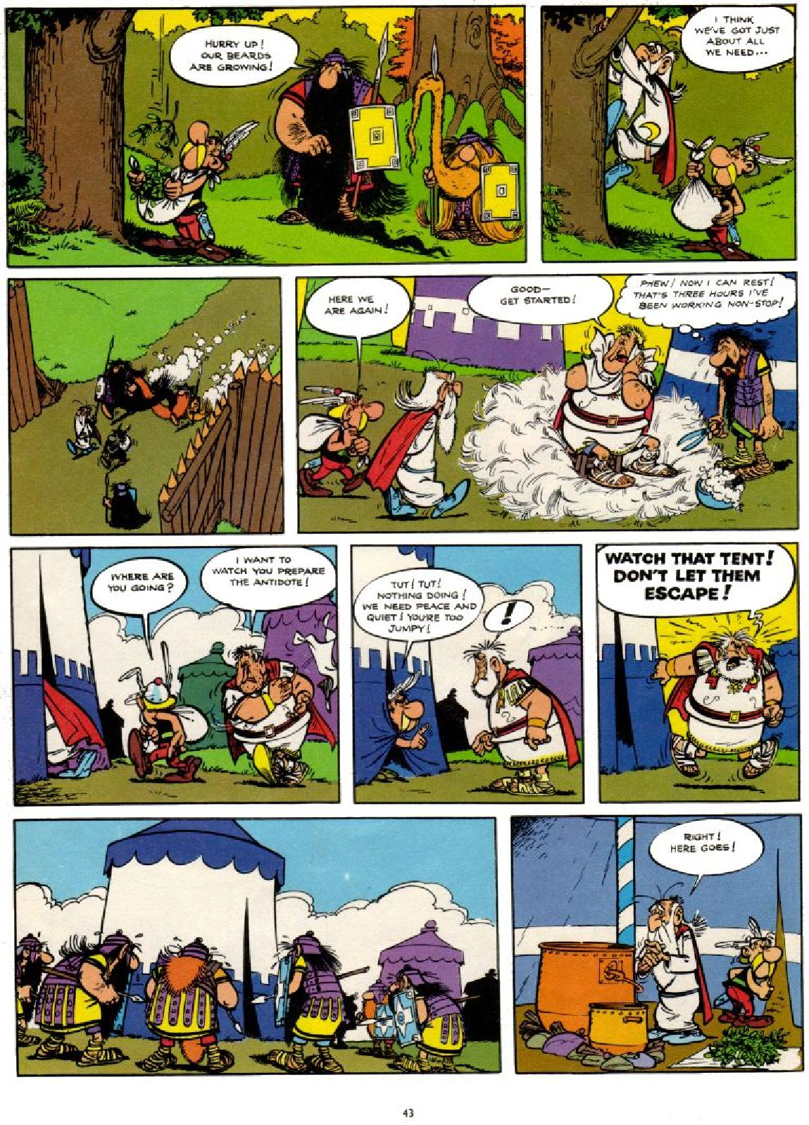 Read online Asterix comic -  Issue #1 - 43