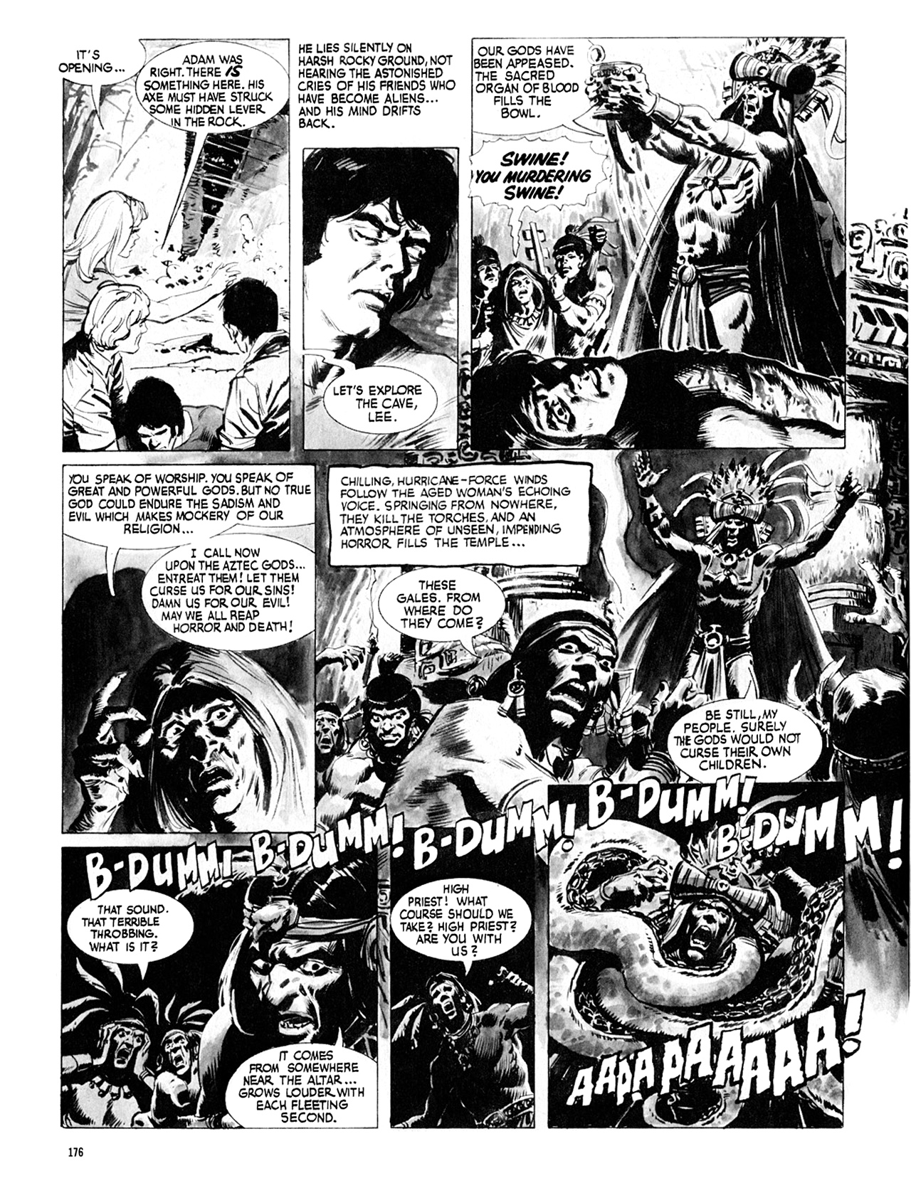 Read online Eerie Archives comic -  Issue # TPB 8 - 177