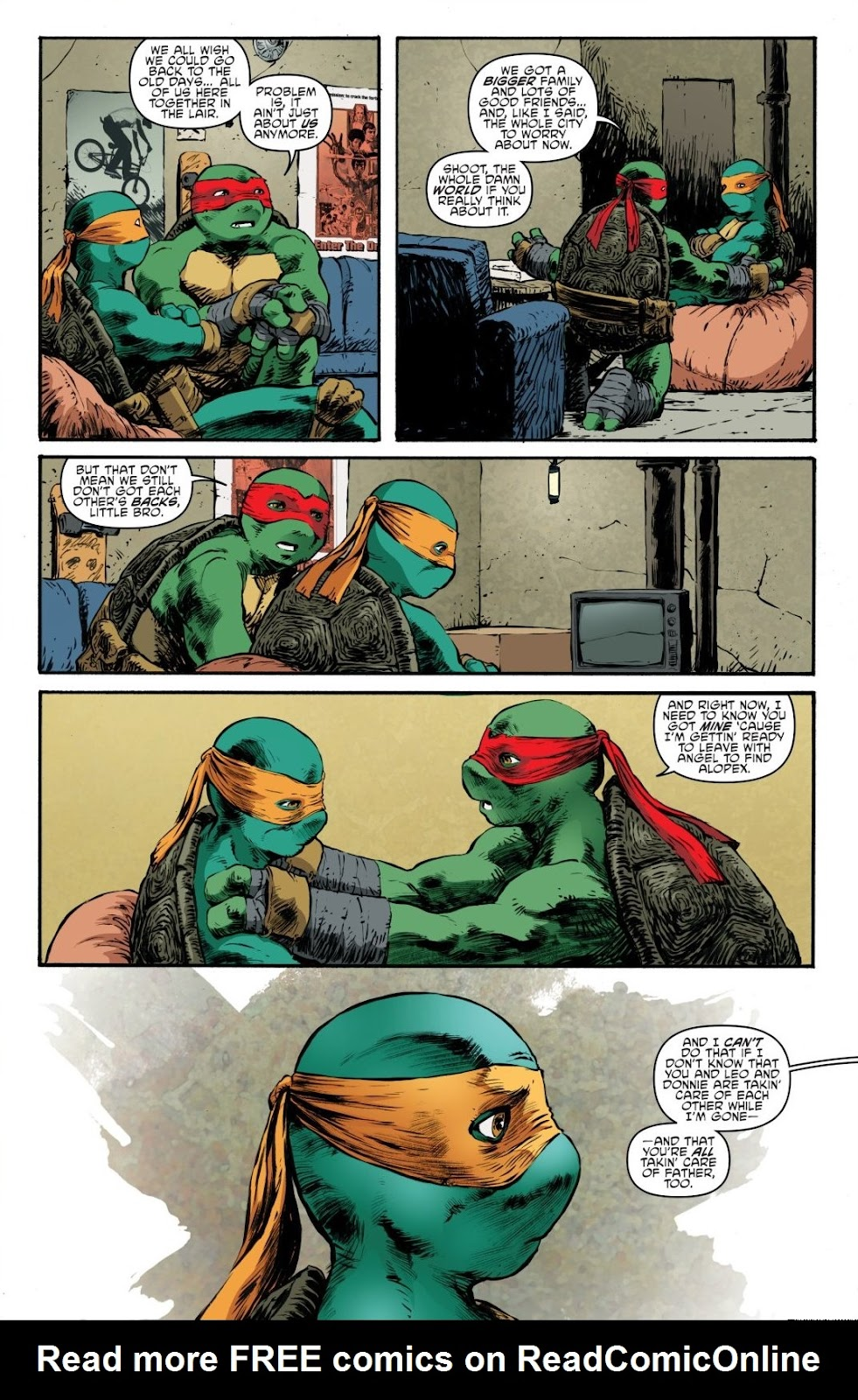 Read online Teenage Mutant Ninja Turtles: The IDW Collection comic -  Issue # TPB 7 (Part 3) - 59