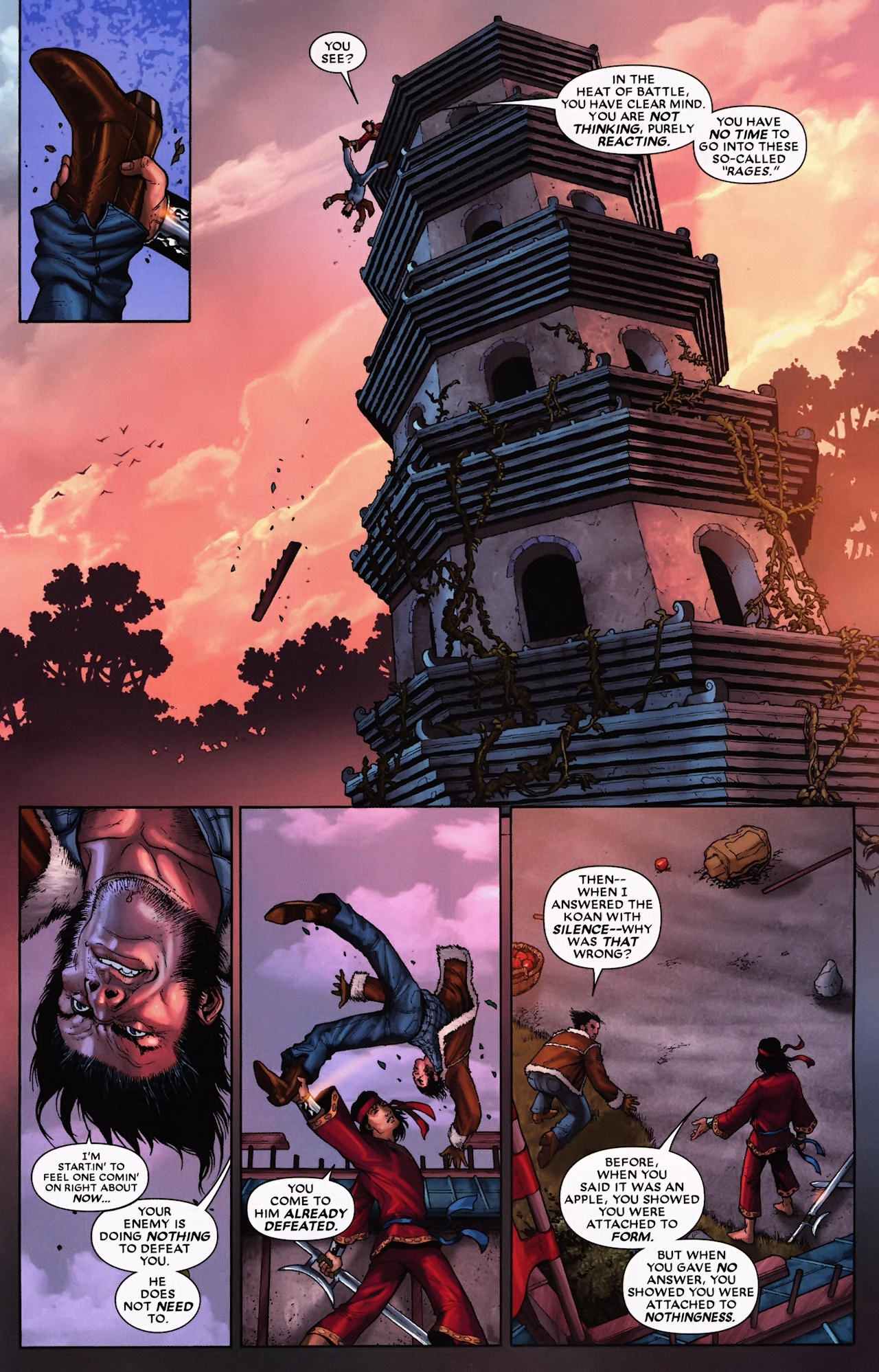 Read online Wolverine: First Class comic -  Issue #9 - 11