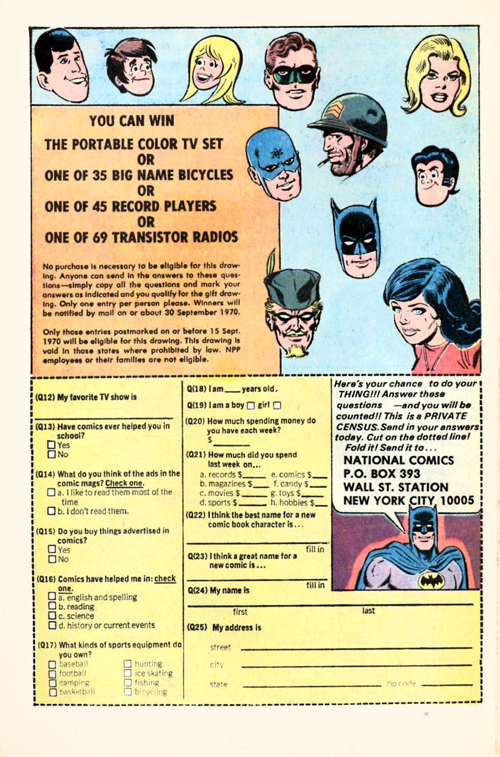 Read online Wonder Woman (1942) comic -  Issue #190 - 32