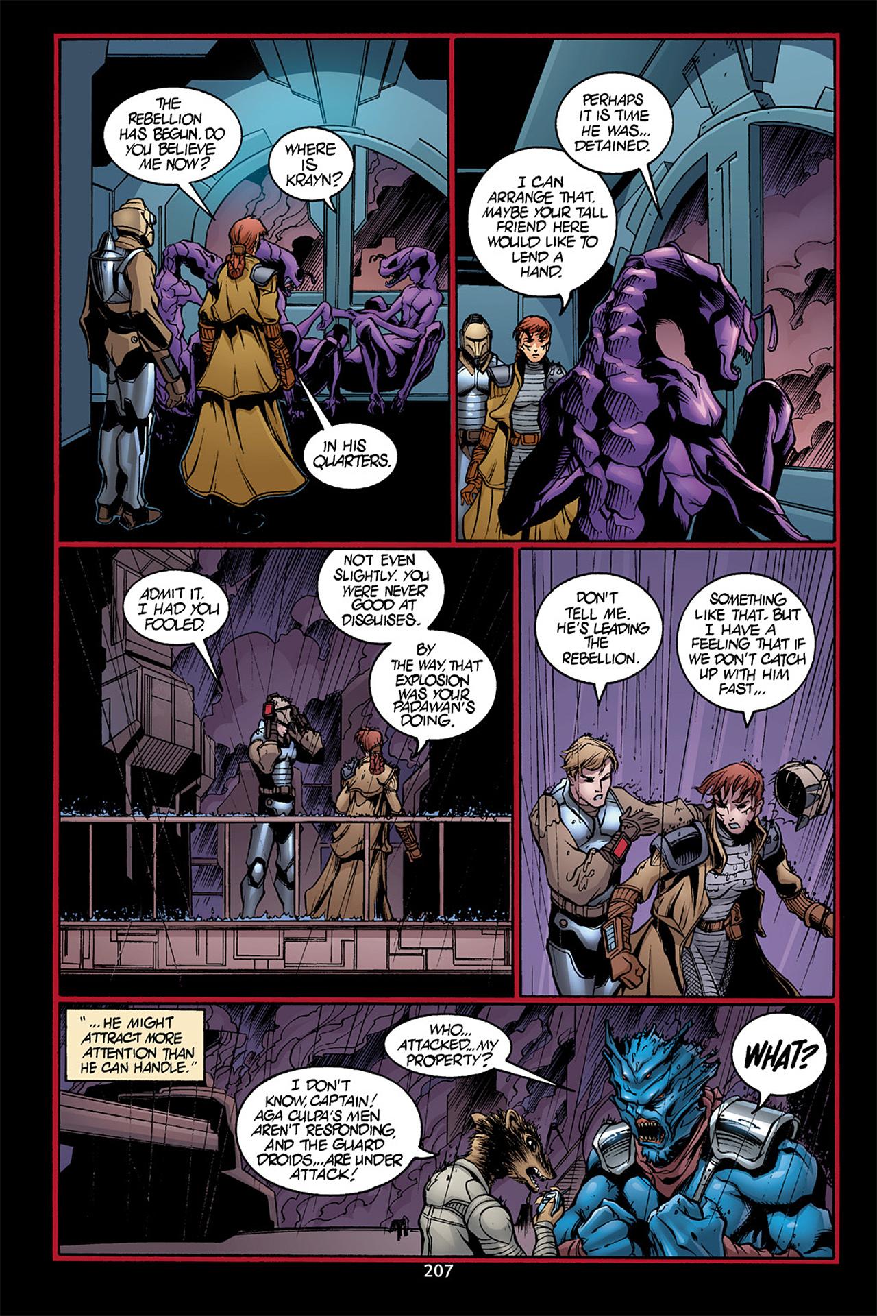 Read online Star Wars Omnibus comic -  Issue # Vol. 10 - 206