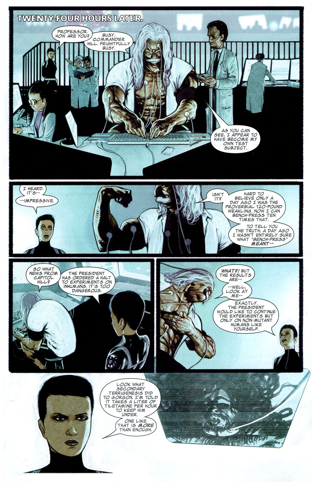 Read online Silent War comic -  Issue #2 - 9