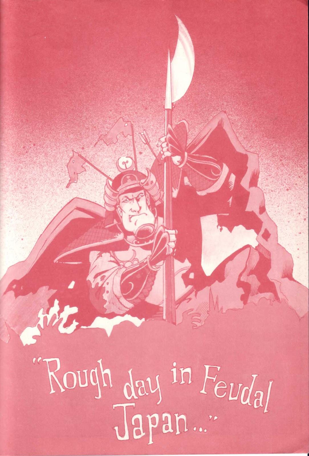 Read online Paul the Samurai (1991) comic -  Issue # TPB - 99