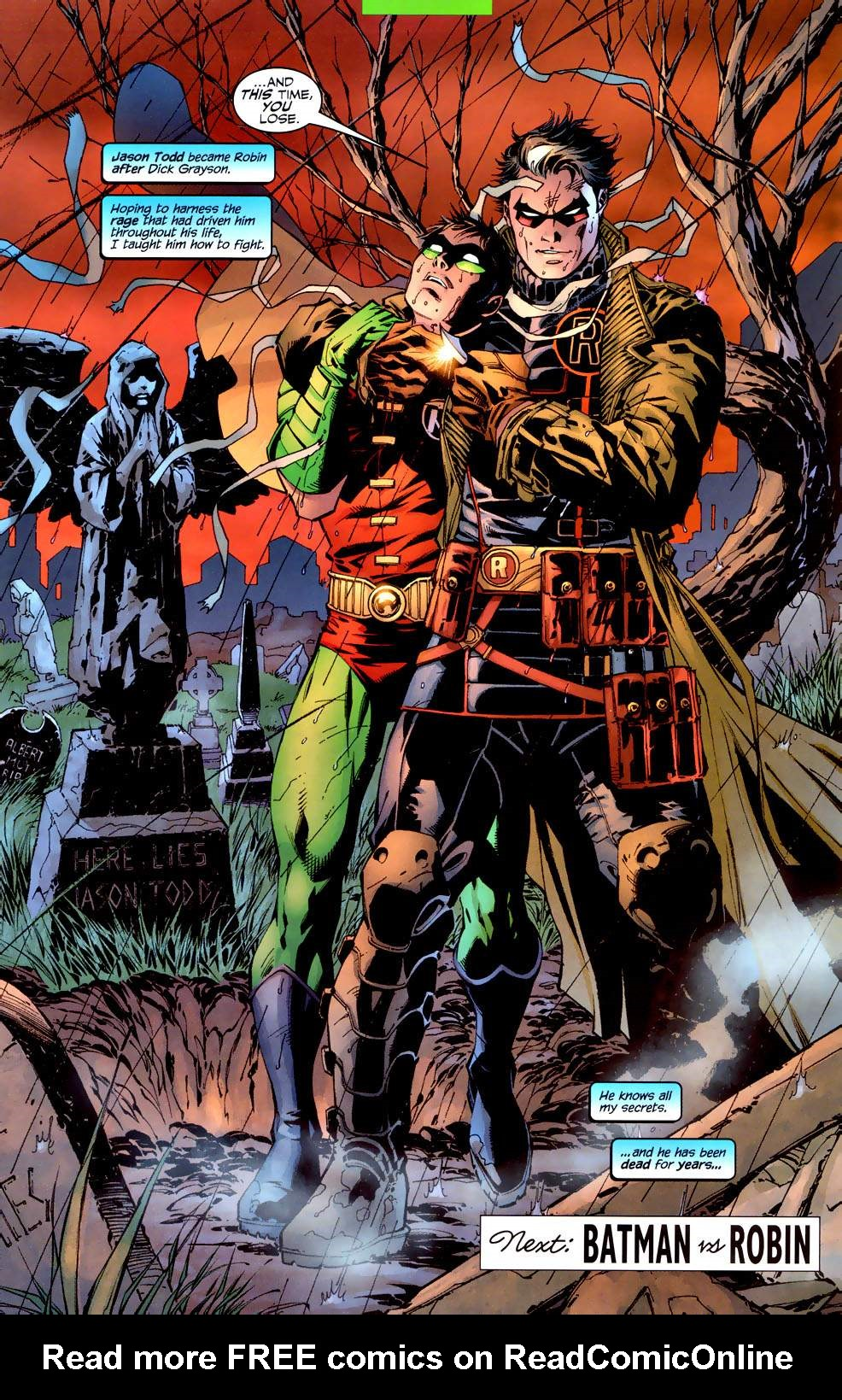 Read online Batman: Hush comic -  Issue #10 - 21