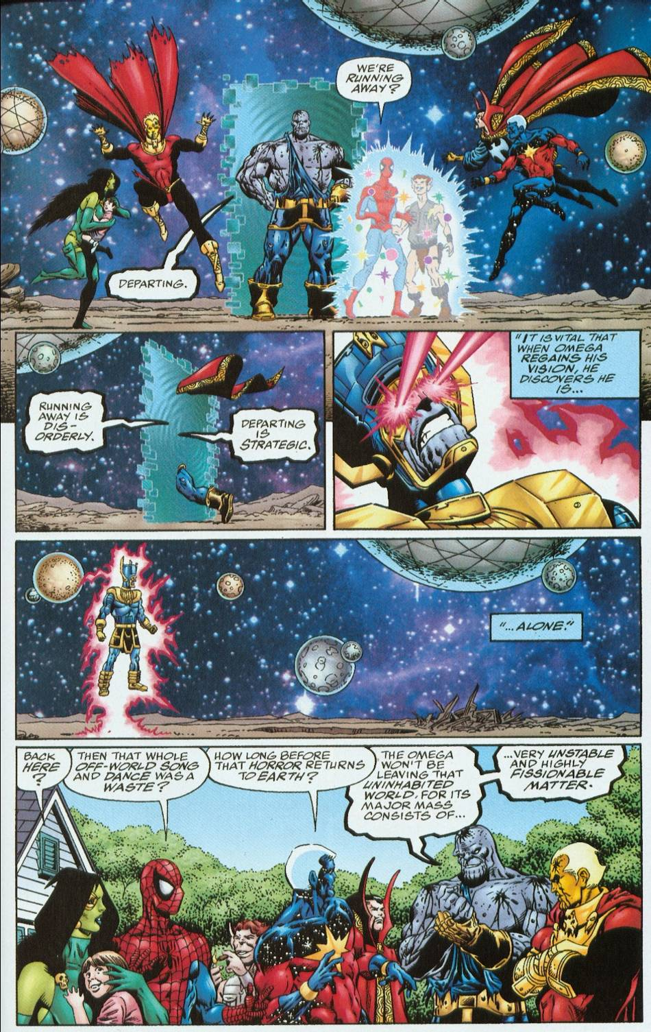 Read online Infinity Abyss comic -  Issue #6 - 33