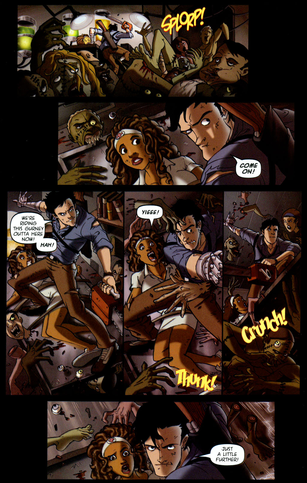 Read online Army of Darkness vs. Re-Animator comic -  Issue #4 - 20