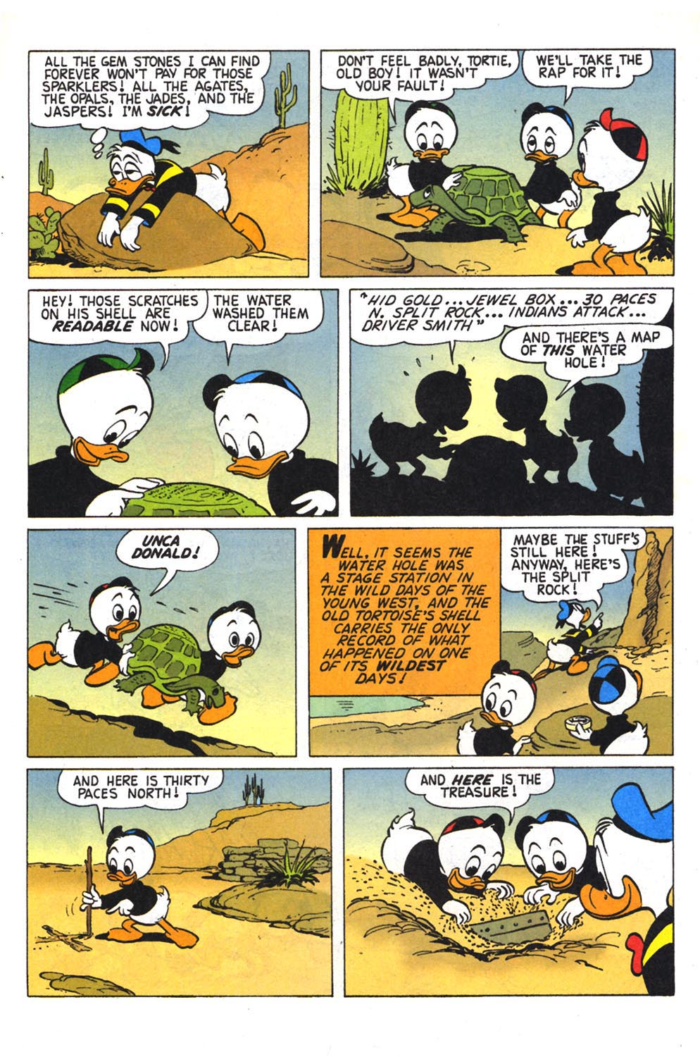 Read online Uncle Scrooge (1953) comic -  Issue #303 - 11
