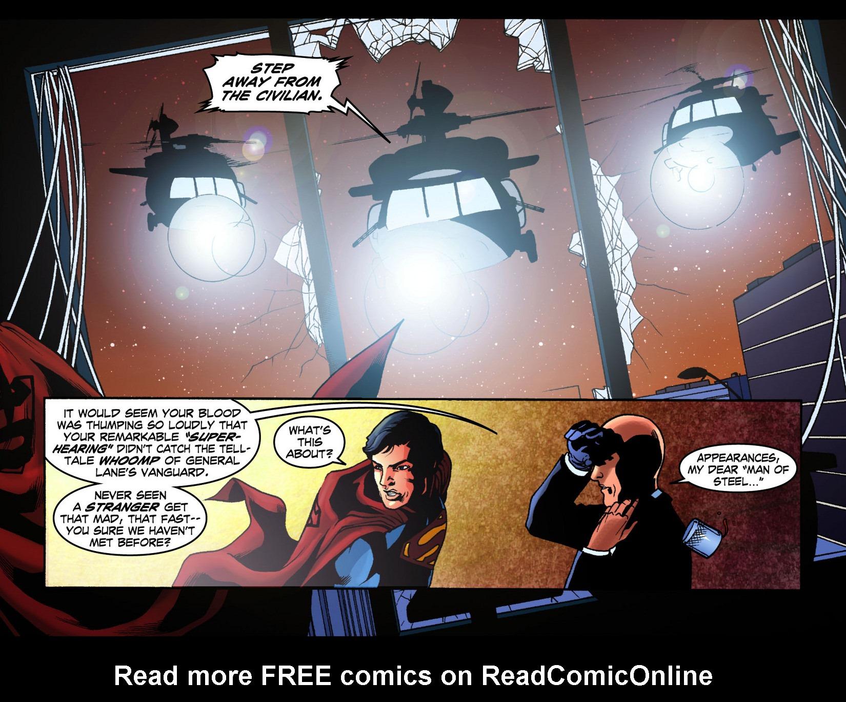 Read online Smallville: Season 11 comic -  Issue #7 - 20