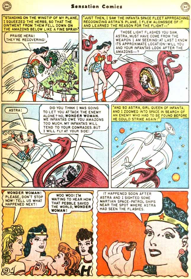 Read online Sensation (Mystery) Comics comic -  Issue #92 - 11
