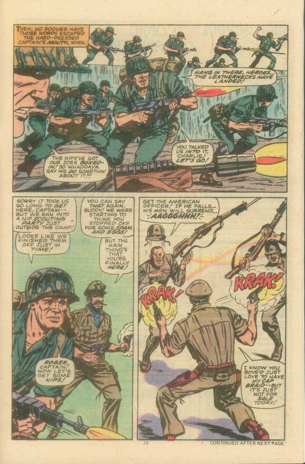 Read online Sgt. Fury comic -  Issue #154 - 25