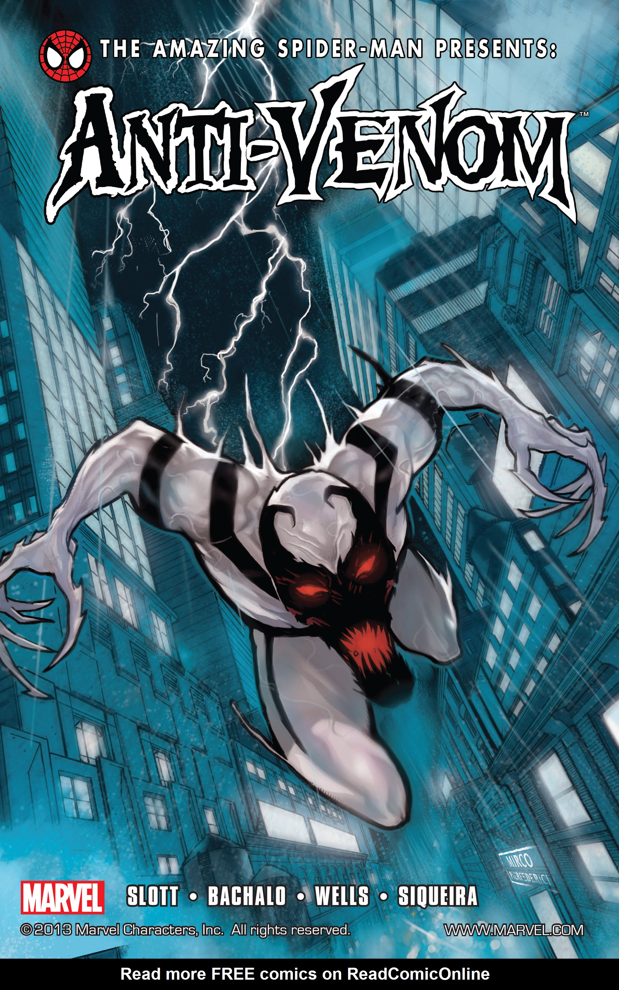 Read online Amazing Spider-Man Presents: Anti-Venom - New Ways To Live comic -  Issue # _TPB - 1