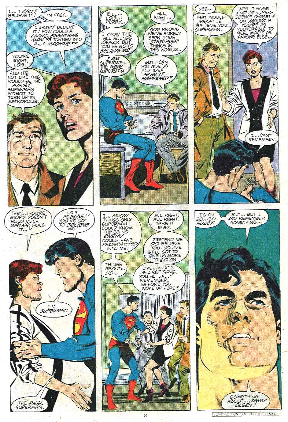 Read online Adventures of Superman (1987) comic -  Issue #439 - 9
