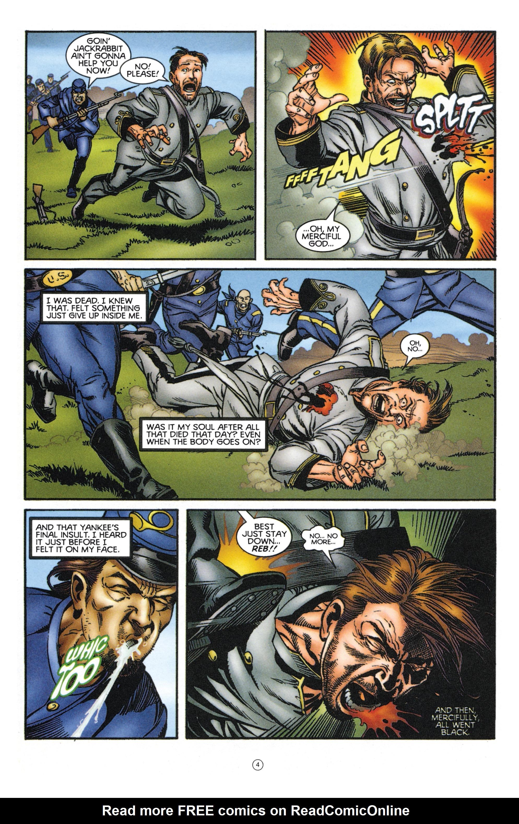 Read online Eternal Warriors comic -  Issue # Issue Mog - 5