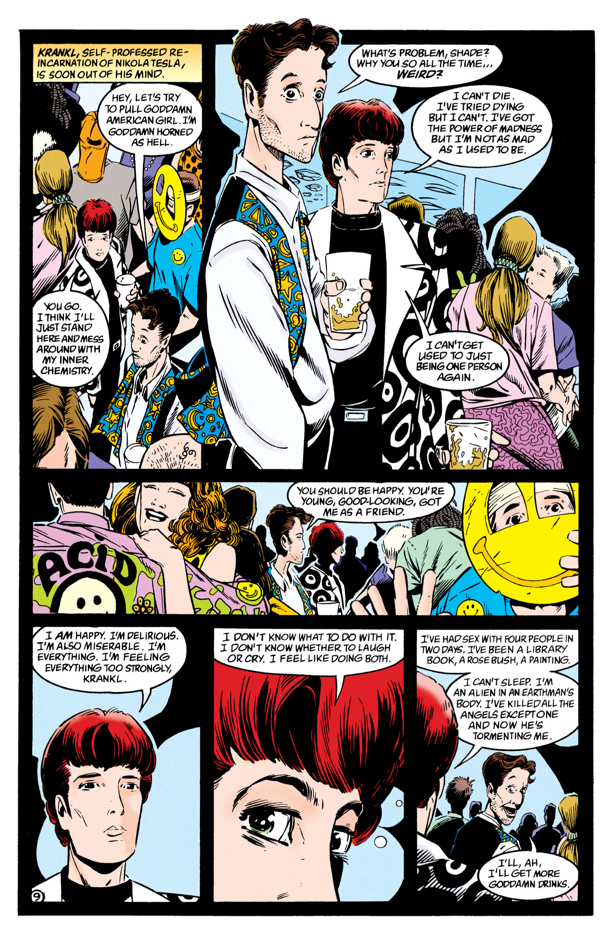 Read online Shade, the Changing Man comic -  Issue #54 - 10