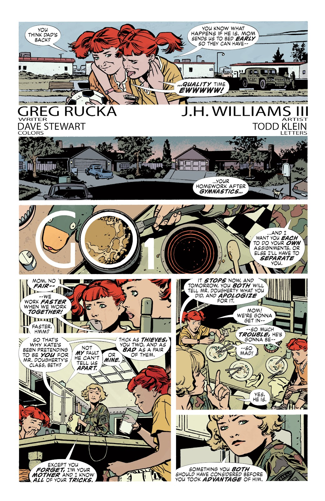 Read online Detective Comics (1937) comic -  Issue # _TPB Batwoman - Elegy (Part 1) - 84
