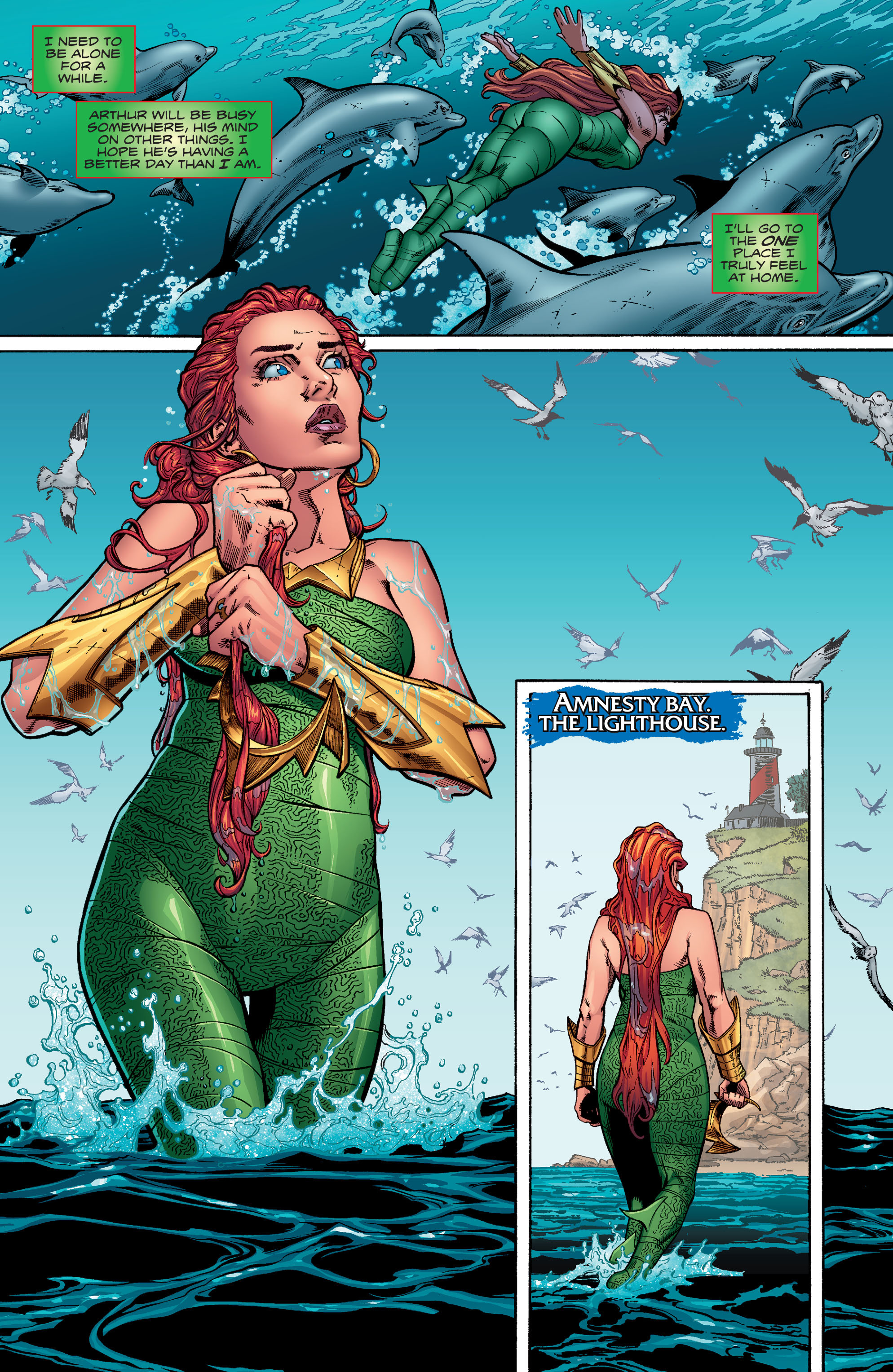 Read online Aquaman (2016) comic -  Issue #10 - 11