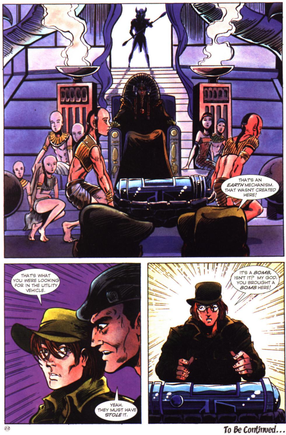 Read online Stargate comic -  Issue #2 - 24
