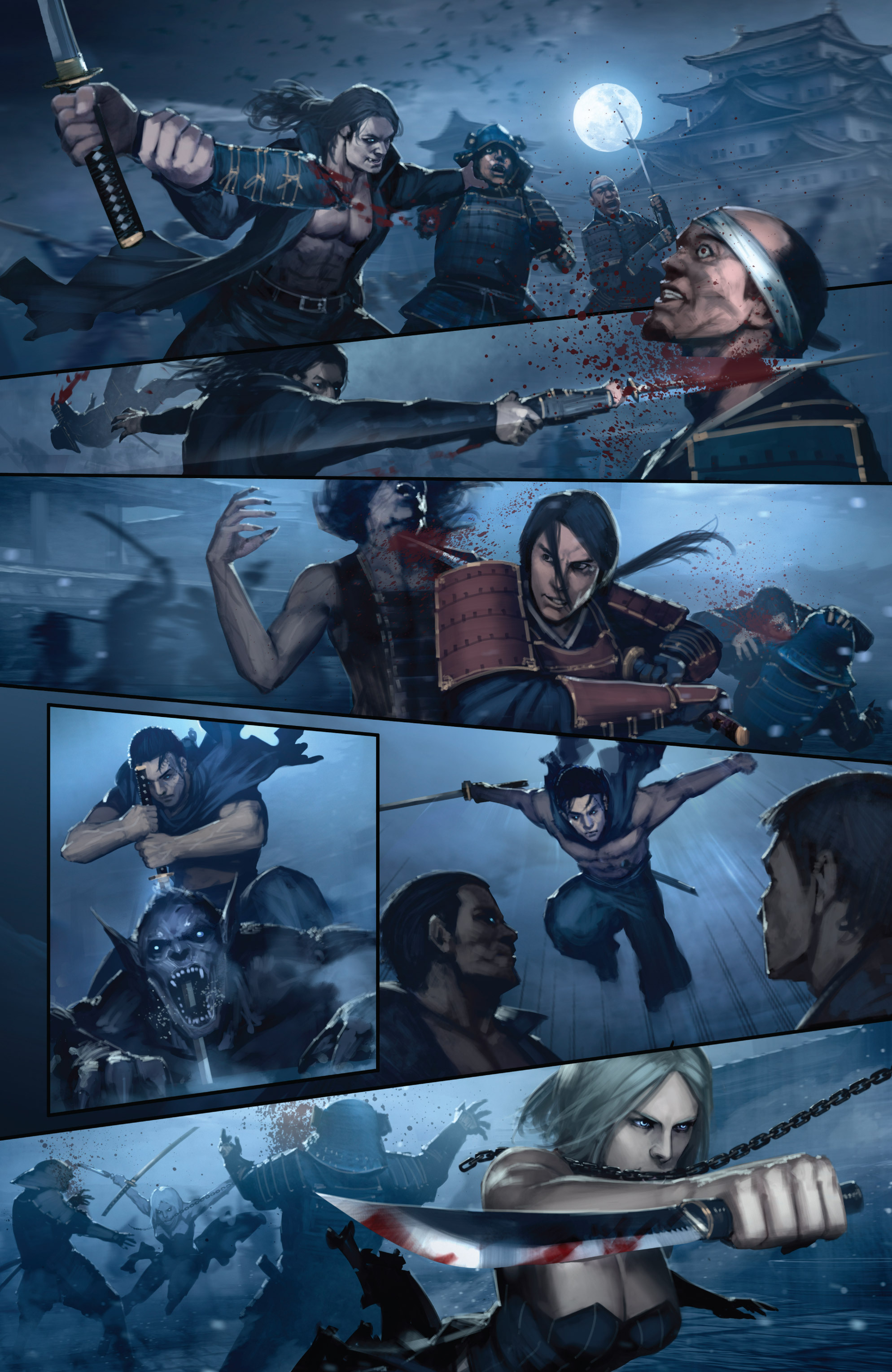 Read online Bushido: The Way of the Warrior comic -  Issue #5 - 11