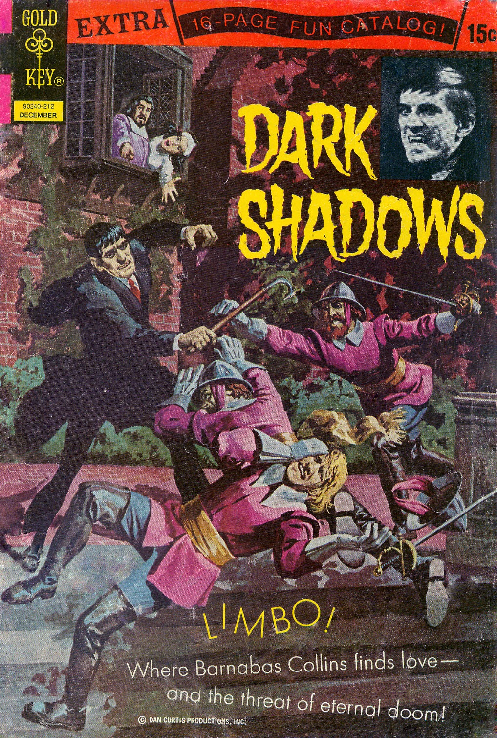 Dark Shadows (1969) 17 Page 1