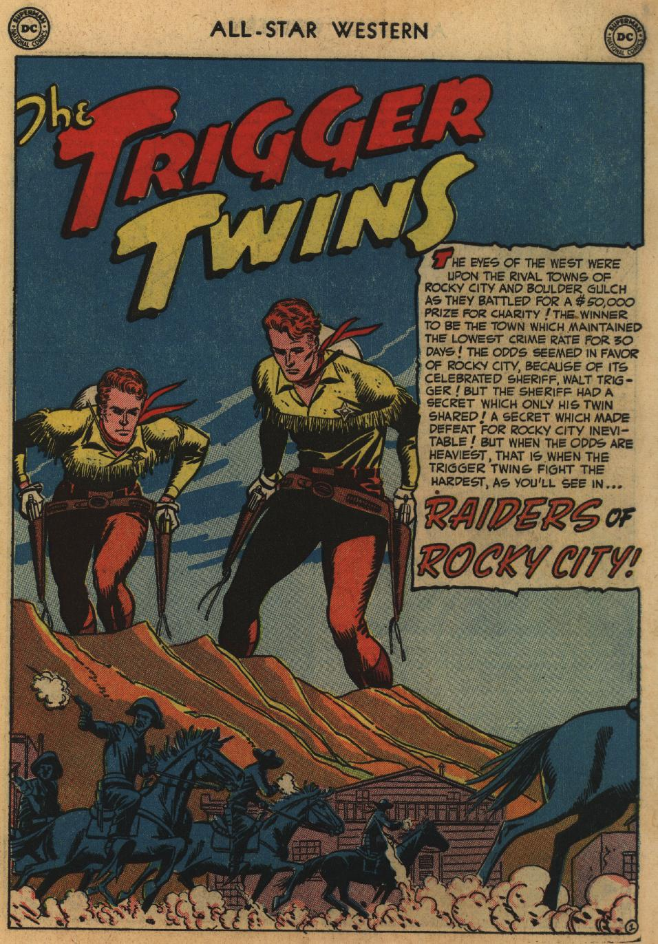 Read online All-Star Western (1951) comic -  Issue #60 - 3