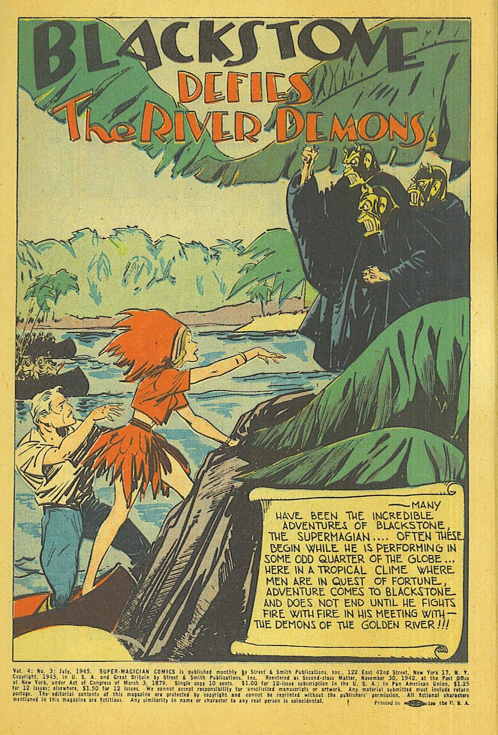 Read online Super-Magician Comics comic -  Issue #39 - 2